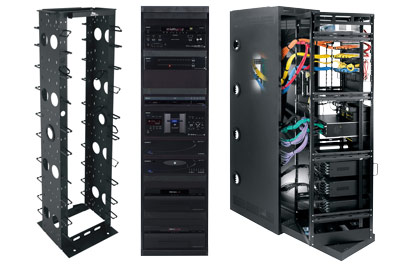 Jackson Hole AV - equipment racks - electronics management - wiring and heat management