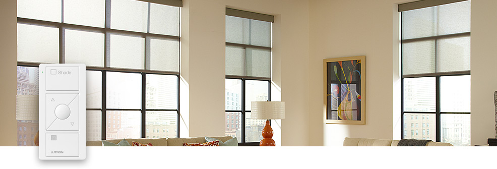 motorized battery powered window shades