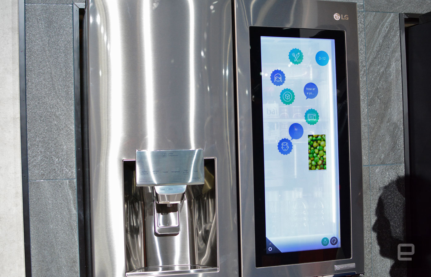 Alexa-powered voice recognition refrigerator