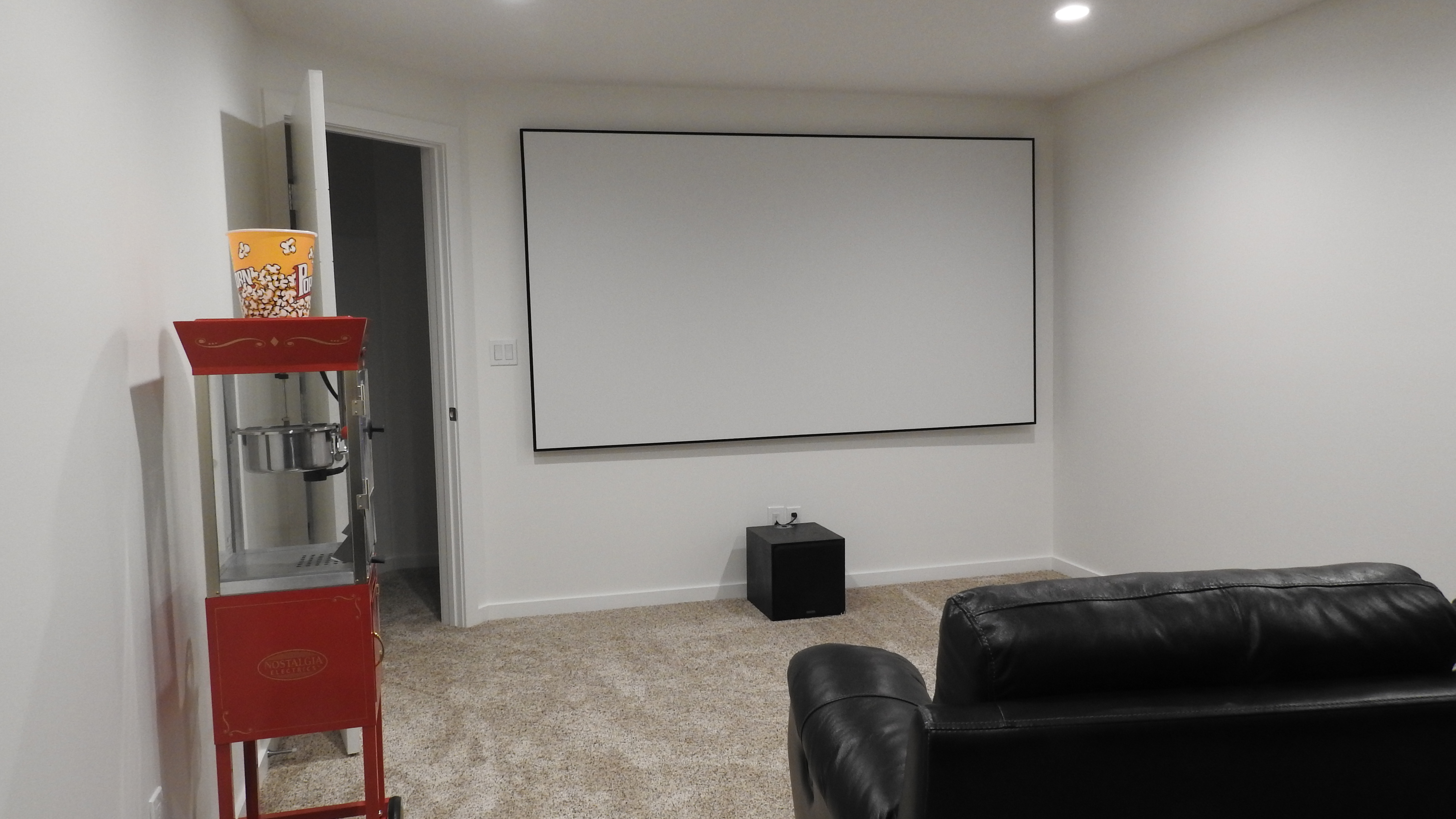 Basement Theatre setup  1