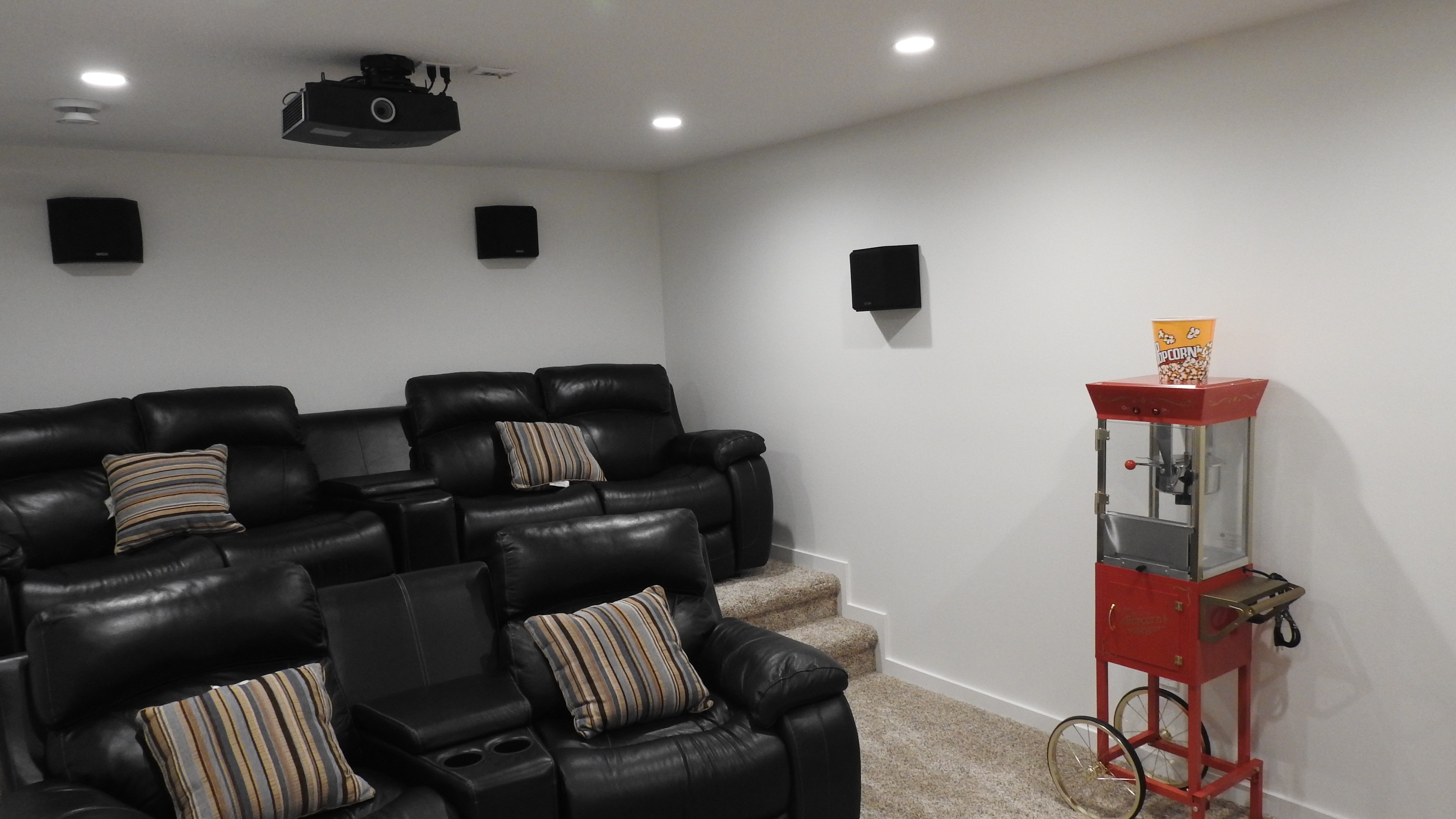 Basement Theatre setup  3