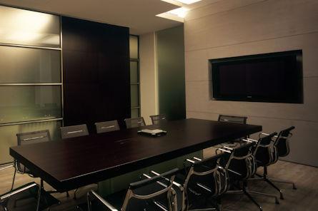 Shore 2 Shore boardroom av
