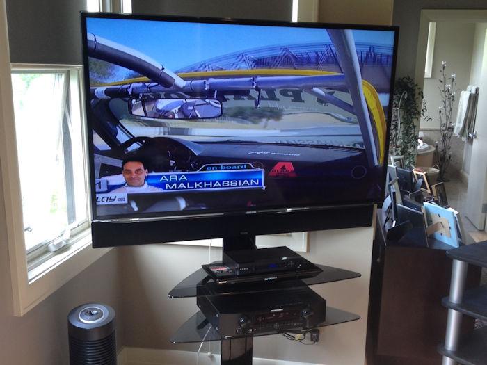 Shore 2 Shore TV stand installation