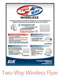 Elk two way wireless